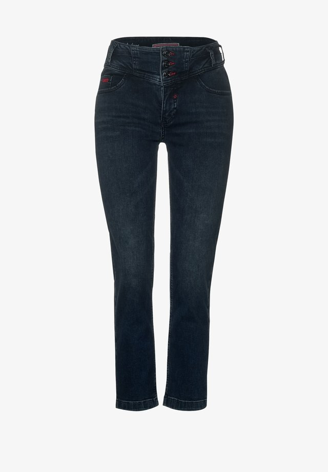 STRAIGHT LEG  - Slim fit jeans - blau