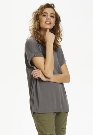 KAJSA - Basic T-shirt - grey