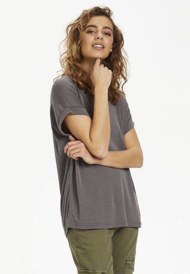KAJSA - T-shirts - grey