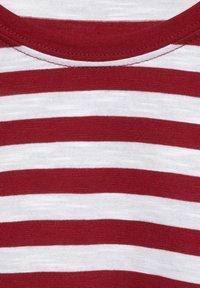 Street One - IM STREIFEN - Print T-shirt - rot - 4