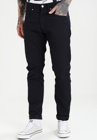 Carhartt WIP - VICIOUS PANT LAMAR - Pantalones - dark navy rinsed - 0