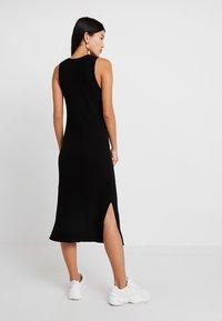 Banana Republic - SWEATER RIB SOLID COLUMN DRESS - Jumper dress - black - 3