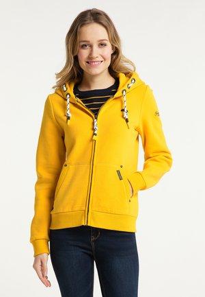 SWEATJACKE - Zip-up sweatshirt - senf