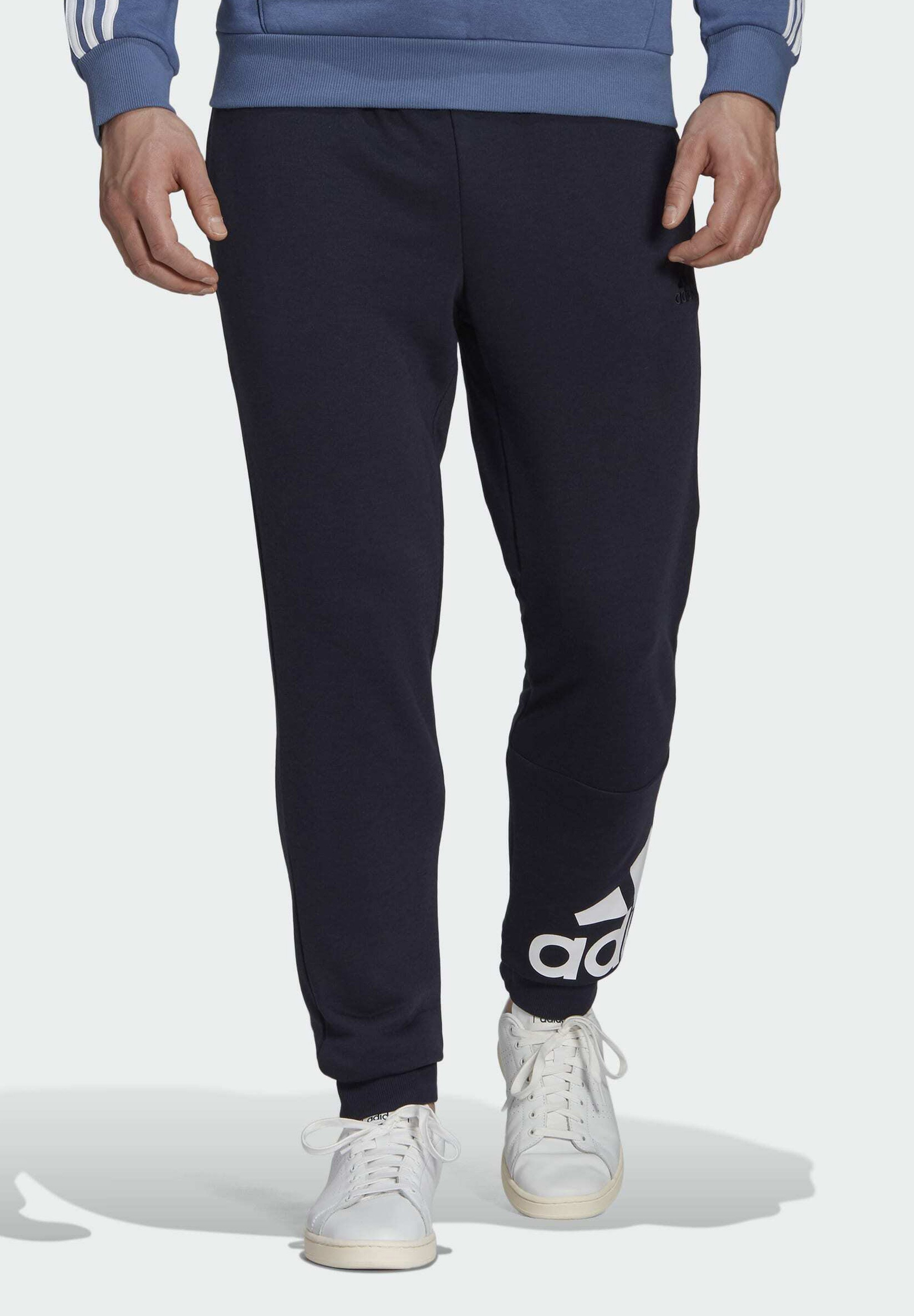 Men ESSENTIALS SPORTS FRENCH TERRY PANTS - Tracksuit bottoms
