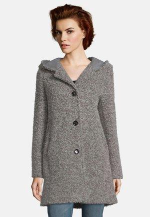 Classic coat - braun melange