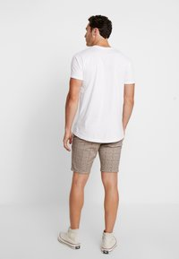 Only & Sons - ONSLINUS CHECK  - Shorts - chincilla - 2