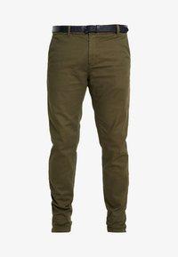 Scotch & Soda - STUART - Chino kalhoty - army - 3