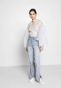 Who What Wear - THE WIDE SLEEVE WRAP - Blouse - off white - 1