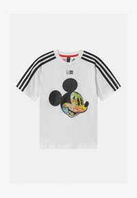adidas Performance - UNISEX - Print T-shirt - white/black - 0