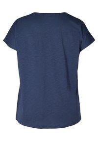 Zizzi - Print T-shirt - blue - 6