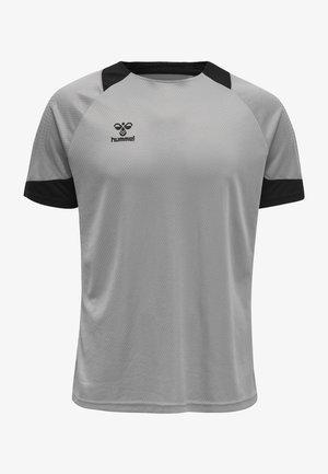 LEAD - T-shirts print - grey melange