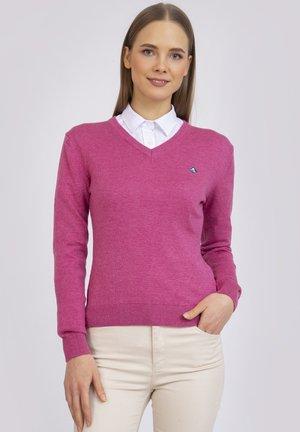 Jumper - pink-melange