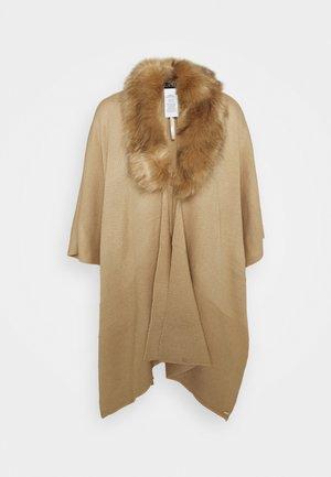 RUANA - Poncho - classic camel