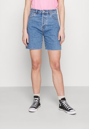 CLASSIC CUTOFF - Denim shorts - cindy blue