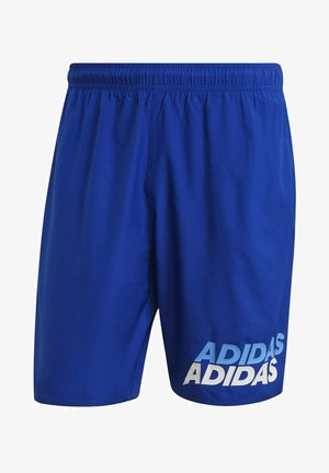 CLASSIC-LENGTH ADIDAS WORDING SWIM SHORTS - Bañador - blue