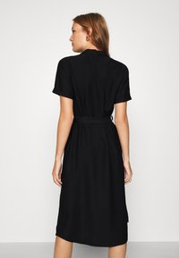 Mavi - SHORT SLEEVE DRESS - Shirt dress - black - 2