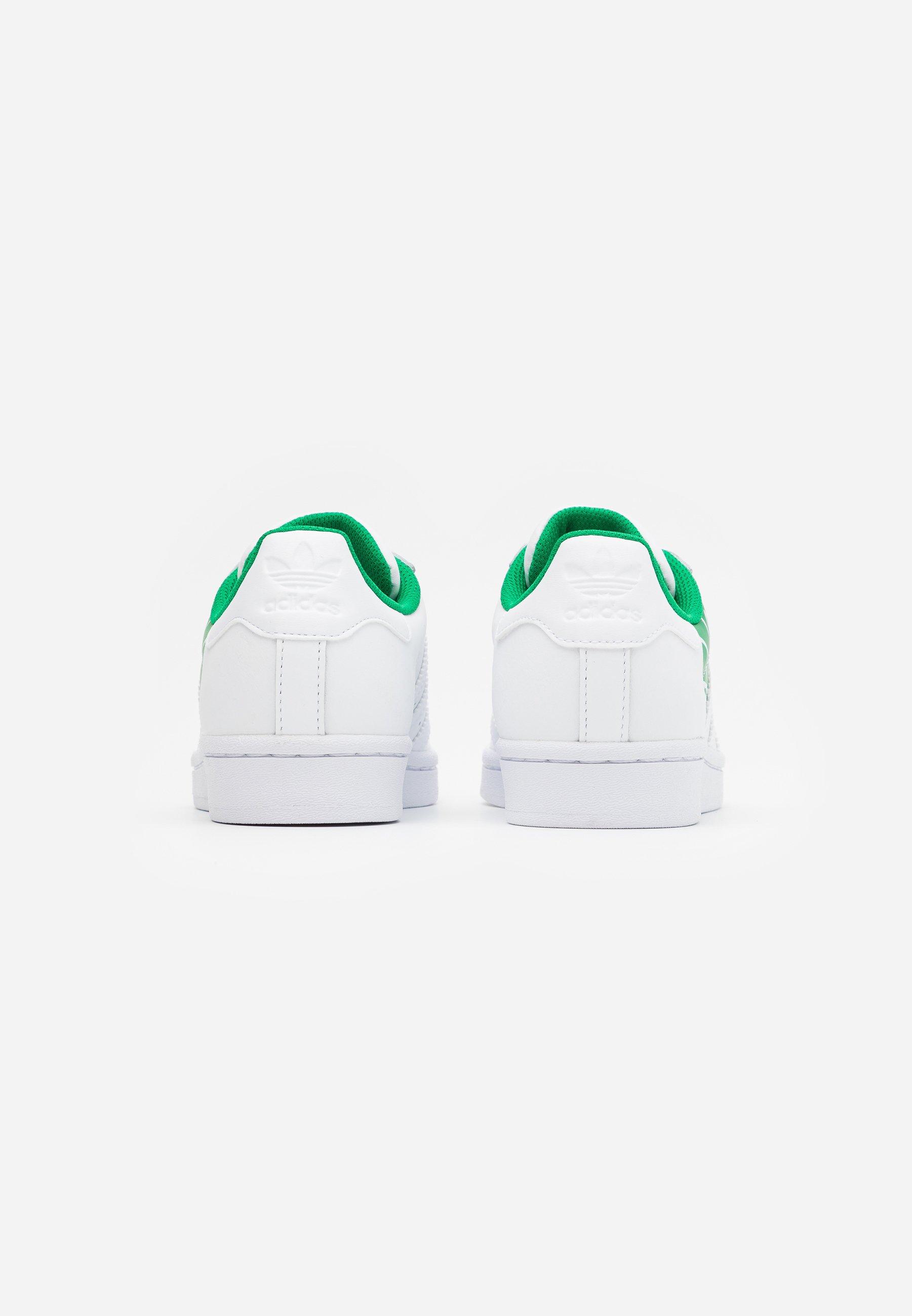 Grande remise Meilleurs prix adidas Originals SUPERSTAR SPORTS INSPIRED SHOES Baskets basses footwear white/green Rb1qh