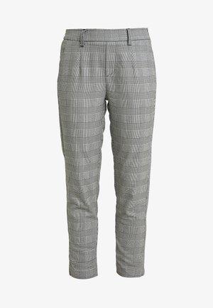 Pantalon classique - gardenia/black