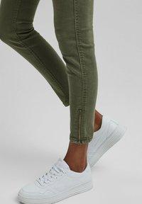 edc by Esprit - Slim fit jeans - khaki green - 4