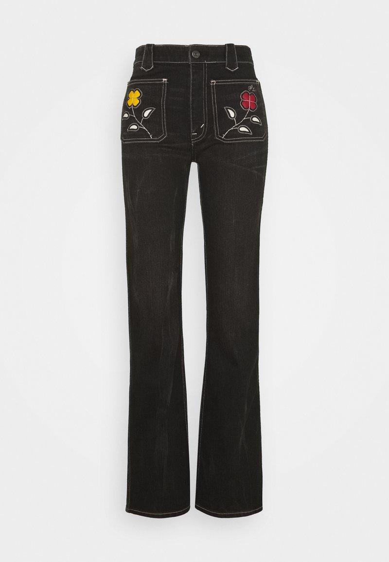 Polo Ralph Lauren - Vaqueros a campana - black