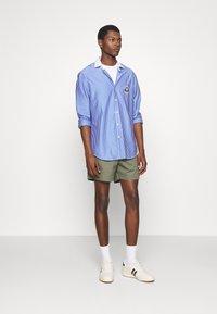 Polo Ralph Lauren - INTERLOCK FULL ESTATE - Shirt - court blue/white - 1
