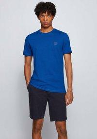 BOSS - TALES - Basic T-shirt - blue - 0