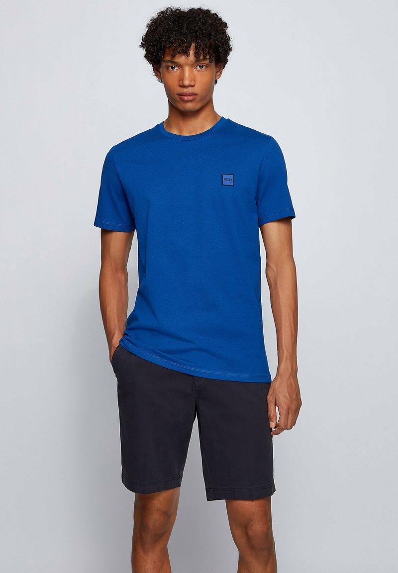 BOSS - TALES - Basic T-shirt - blue