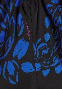 Milly - TOSSED PAISLEY DRESS - Robe de soirée - black/azure - 2