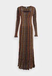 M Missoni - LONG DRESS - Jumper dress - carob - 4