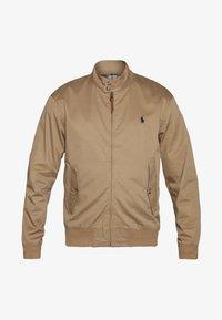 COTTON TWILL JACKET - Summer jacket - luxury tan
