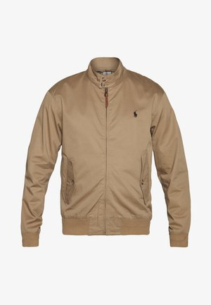 CITY - Bomber Jacket - luxury tan