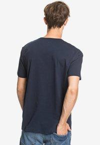 Quiksilver - COMPLOGOSS - Print T-shirt - navy - 2