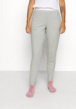 LOUNGE JOGGER - Pyjama bottoms - grey heather/pearly pink