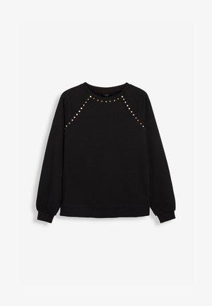 STUDDED - Sweatshirt - black