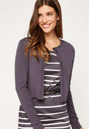 IN BOLERO-OPTIK - Cardigan - slate