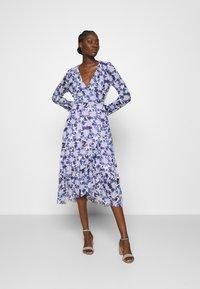Fabienne Chapot - NATASJA FRILL DRESS - Day dress - marigold/lilac - 0