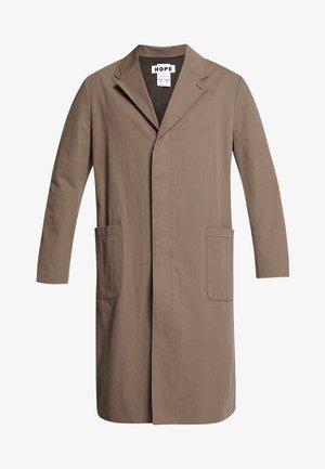 HIGH COAT - Wollmantel/klassischer Mantel - brown