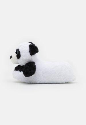 PANDA - Tohvelit - black/white
