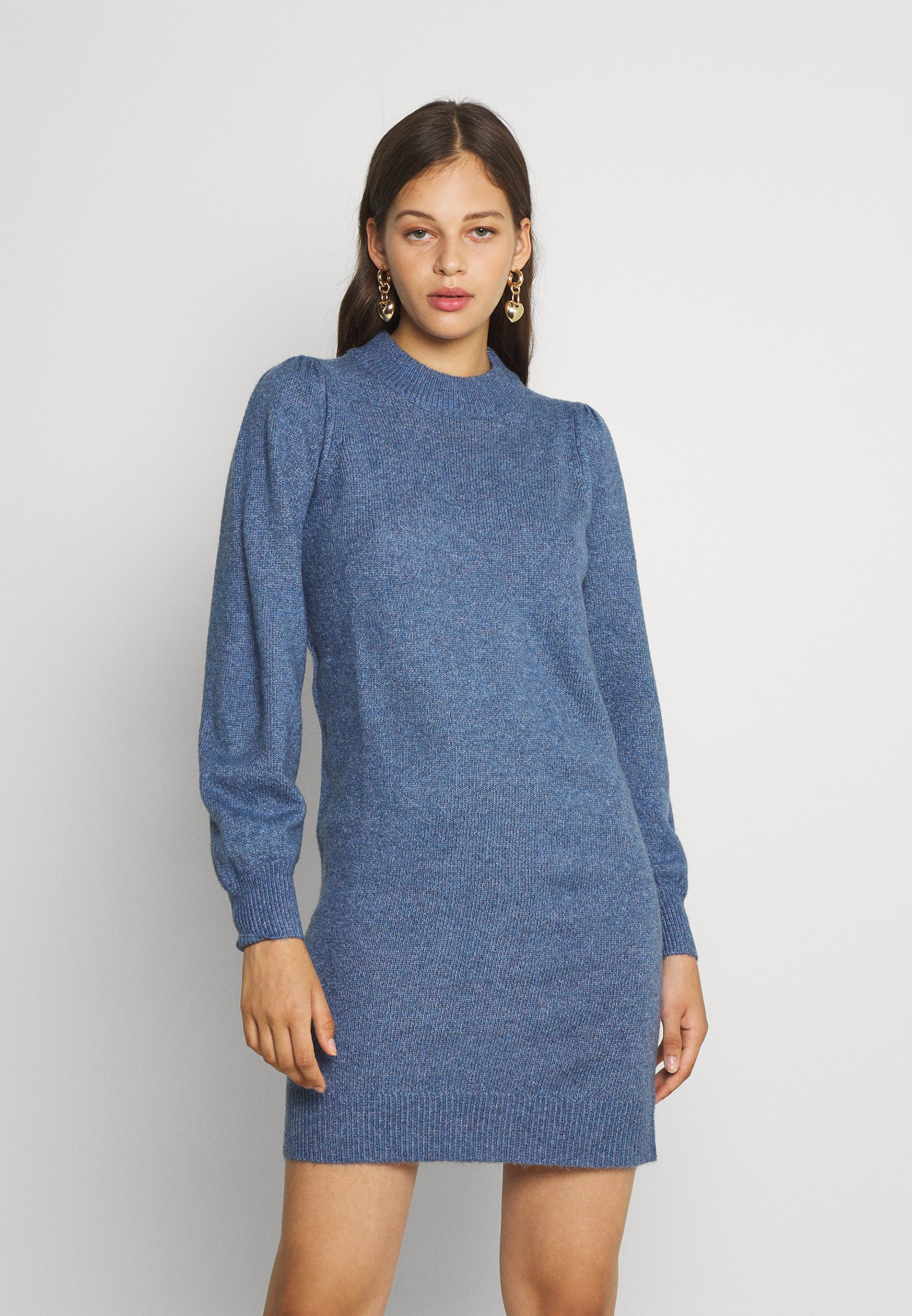 Femme HIGH NECK KNT NOOS - Robe fourreau
