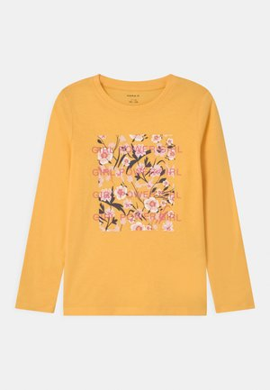 NKFDIRGA  - Longsleeve - sunset gold