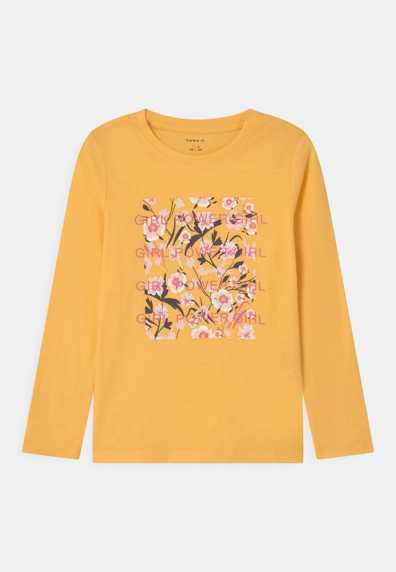 Name it - NKFDIRGA  - Langærmede T-shirts - sunset gold