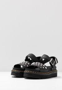 Dr. Martens - VOSS STUD - Platform sandals - black - 4