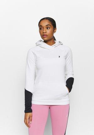 RIDER HOOD - Sweatshirt - offwhite