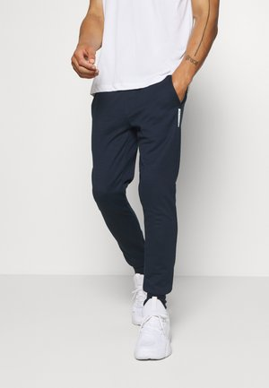 JJWILL PANTS - Tracksuit bottoms - navy blazer