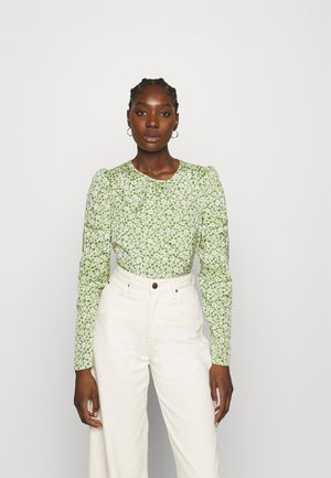 DELICATE  - Long sleeved top - green