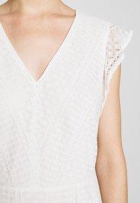 Lauren Ralph Lauren - MULTISTITCH DRESS - Day dress - matte ivory - 6
