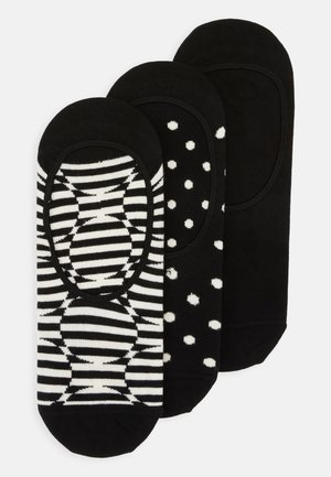 OPTIC DOT LINER SOCK 3 PACK - Socks - black