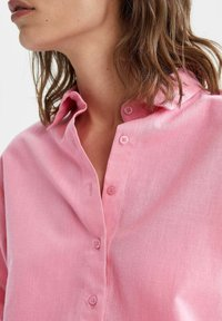 DeFacto - OVERSIZED - Button-down blouse - pink - 3