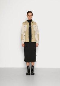 Calvin Klein - NEW YORK ESSENTIAL DRESS - Jersey dress - black - 1