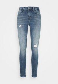 ONLY - ONLPOWER PUSH UP DESTROY - Jeans Skinny Fit - medium blue denim - 3